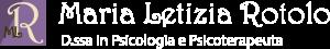 Logo Maria Letizia RotoloBianco